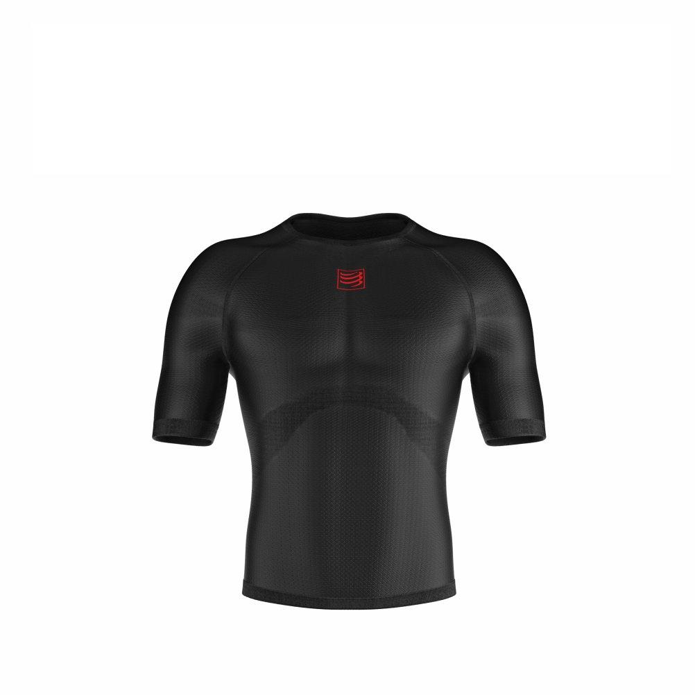 T-Shirt Course /à Pied Blanc 2019 Tshirt Sport COMPRESSPORT 3D Thermo Ultralight