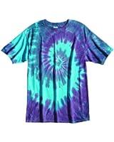 Sundog Pastel Twilight Tie Dye Swirl T-shirt Tee Shirt