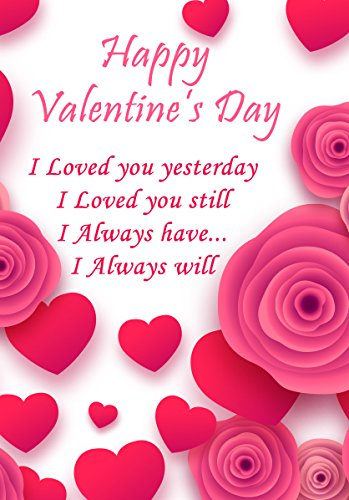 amazon com valentine s day greeting card personalized greetings
