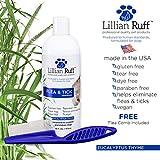 Lillian Ruff Flea and Tick Shampoo for Dogs with