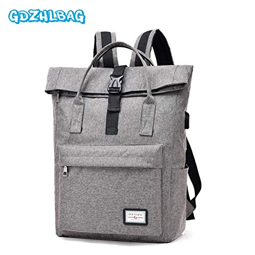 Amazon.com: Men Backpack Anti Theft USB Charging 15.6 Laptop Bag Mochilas Escolar Feminine Male Bagpack Notebook College School B287: Kitchen & Dining