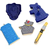 Doctor Who Cookie Cutters by ThinkGeek