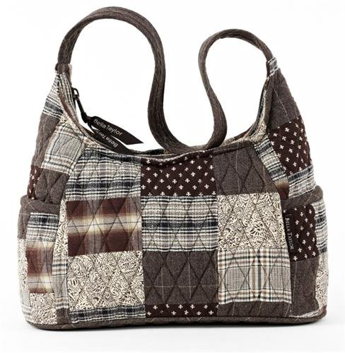 Bella Taylor Oxford Curve Quilted Cotton Handbag, Bags Central