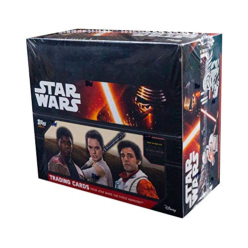 2016 Topps Star Wars Force Awakens Series 1 Special Hobby Edition Box -