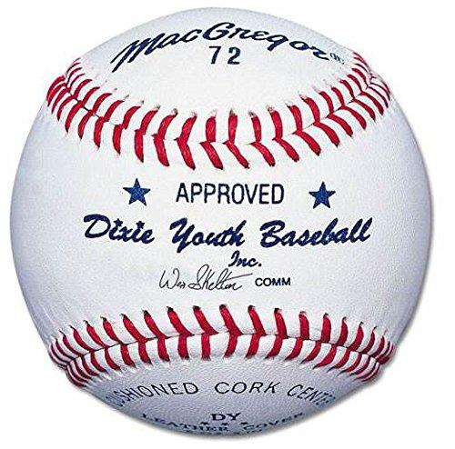 Macgregor Youth 72 Official Dixie Baseball (One Dozen)