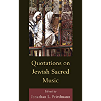 Quotations on Jewish Sacred Music book cover