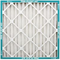 NaturalAire Pre-Pleat 40 Air Filter, MERV 8, 20 x 25 x 4-Inch, by Flanders