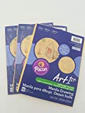 Pacon Artist Drawing Paper Manila 9x12, 50 Sheets (2 Pack)