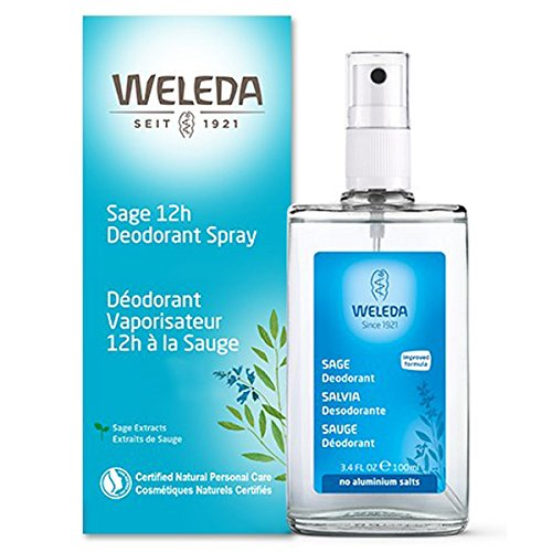 Weleda Sage 12h Deodorant Spray, 3.4-Ounce