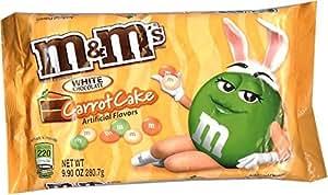 M&M's White Chocolate CARROT CAKE - 9.90 Oz Size Bag