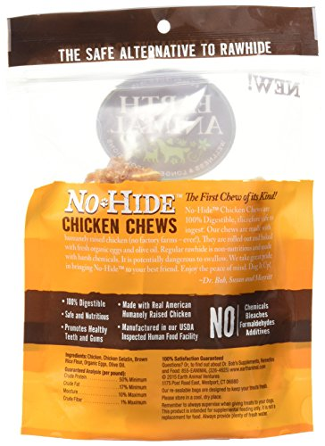 Earth Animal NoHide Chicken Chews 2 Pack (4 oz) by No-Hide Chicken Chews (Image #3)