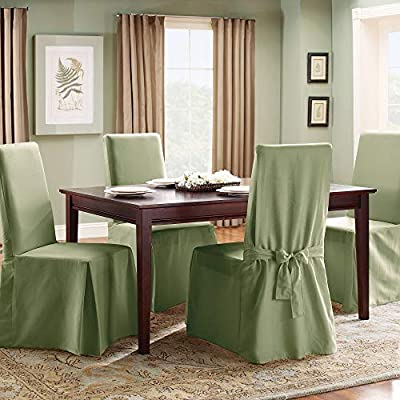 Sure Fit Duck Solid Chair Slipcover