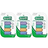 GUM Antibacterial Toothbrush Covers For Travel or