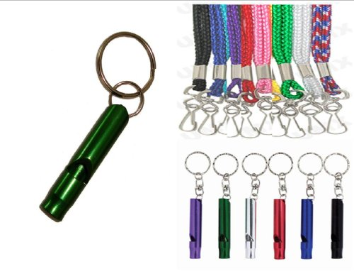small aluminum whistle - 8