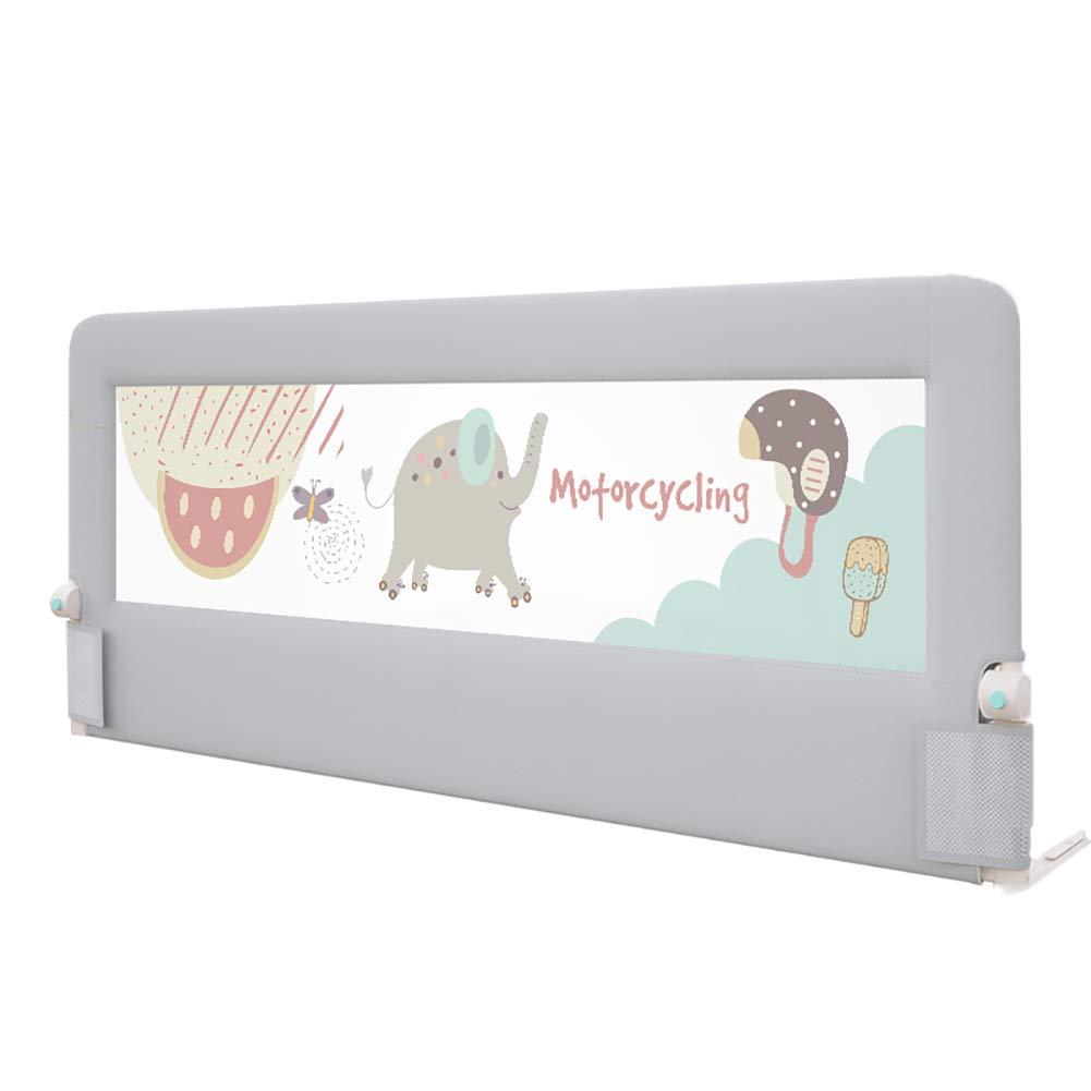 ベッドフェンス- 幼児用ベッドレール - クイーン&キングサイズベッド用ベビー折りたたみ式ポータブルガードレールのための特別な安全ベッドガード、(1面) (サイズ さいず : 180cm) 180cm  B07KPSQ7HV