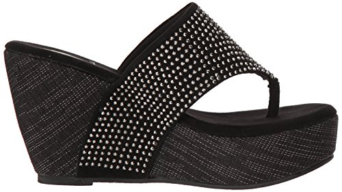 Sandal Wedge Women's Black Majestic Volatile qEZwtZ