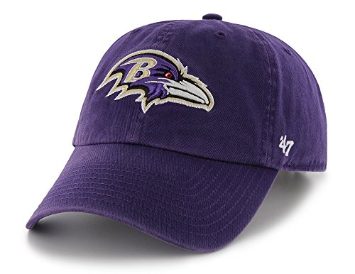 NFL Baltimore Ravens '47 Brand Clean Up Adjustable Hat, Alte