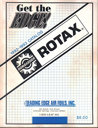 - Bombardier ROTAX, Leading Edge Air Foils Catalog, 1992-1993