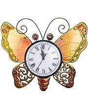 MUMTOP Indoor Outdoor Wall Clock Waterproof Wall-Mounted Clock Exquisite Decoration Does