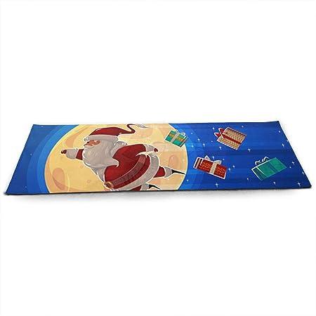 LinJxLee A Fiying Santa Yoga Mat Eco Friendly Non Slip ...