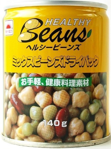 Maruha Nichiro mix beans dry pack 140gX6 cans pack by Akebono