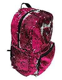 Fashion Angels Magic Sequin Backpack, Pink/Silver