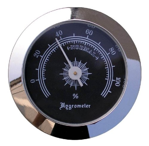 Visol Products VAC702 Cigar Humidor Hygrometer