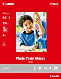 Canon Photo Paper Plus Glossy Ii 85 X 11 Inches 20 Sheets