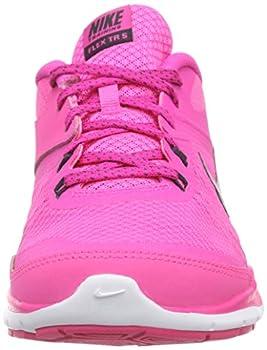 Nike Womens Flex Trainer 5 Running Shoe, Pink Powanthracitepink Foilwhite - 10 B(m) Us 3
