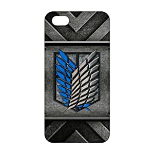 Cool-benz Attack on Titan 3D Phone Case for iPhone 4/4s