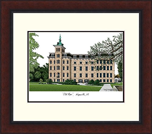Campus Images ''North Central College Legacy Alumnus Framed Lithographic Print