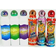 """Bingo Dauber """"Best Selling Colors"""" Set! - Mixed with 3 Dazzle Glitter & 3 Ultra Bright Sunsational Ink Dabbers by CJ Venne"""