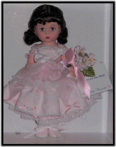 (Madame Alexander Flowers for the Bride Doll 8