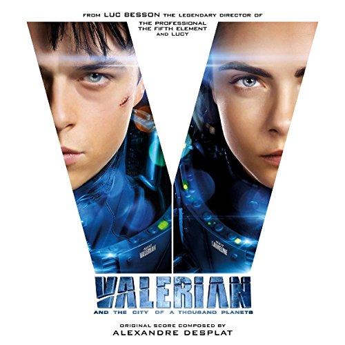 Vinilo : Soundtrack - Valerian & The City Of A Thousand Planets (Gatefold LP Jacket, 180 Gram Vinyl, Blue, White, Limited Edition)