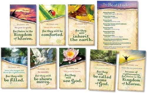 North Star Teacher Resources The Beatitudes Bulletin Board Set NS3110