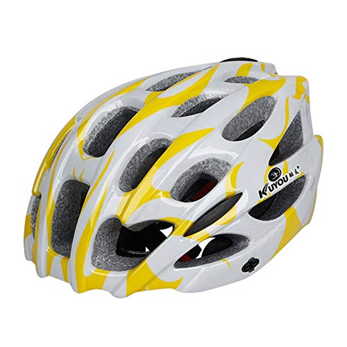 - CapsA Lightweight Microshell Bicycle Helmet Ultralight Bicycle Helmet Adjustable Bike Cycling Helmets with Light Size 57-61 Adult Cycling Road Helmet (B, 57-61 cm)