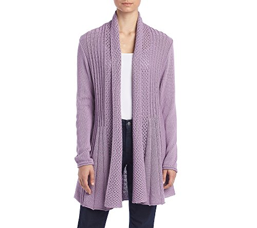 Studio Works Open Front Cardigan Sweet Lilac (Lilac Studio)