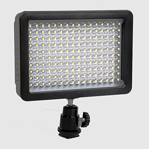 Zakitane 160 LED Dimmable Ultra High Power Panel Digital Camera / Camcorder Video Light, LED Light for Canon, Nikon, Pentax, Panasonic,sony, Samsung and Olympus Digital SLR Cameras