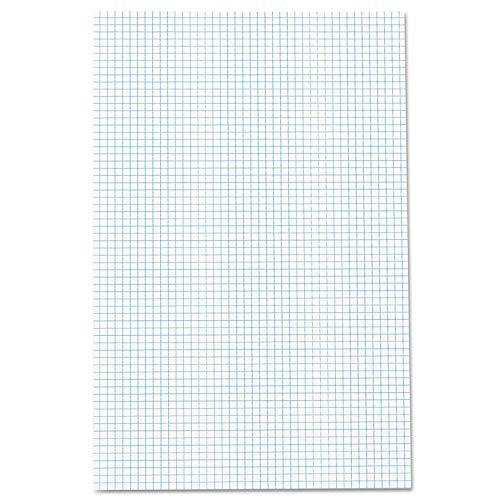 Ampad Quadrille Double Sided Pad, 11 x 17, White, 4x4 Quad Rule, 50 Sheets, 10 Pads, 500 Sheets Total (22-037) by Ampad (Image #1)