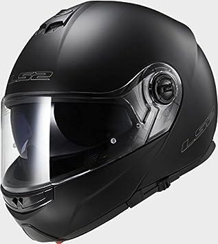 LS2 ff325 Strobe Negro Mate Casco de Moto, LS2 FF325, negro, EXTRA SMALL