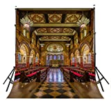 LYLY COUNTY 5×7ft Polyester Beautiful King's College London Chapel Photography Background British Architecture Backdrop Wedding Studio Backdrop Props Wall 1.5×2.1m PB023