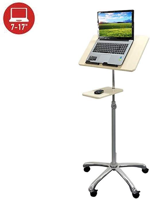 Escritorio para Laptop Altamente Ajustable, Mesa Alta,Soporte para ...