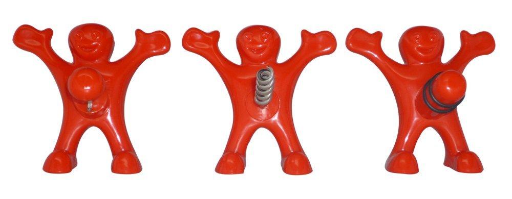 Fairly Odd Novelties 3-Pack Sir Perky Corkscrew//Bottle Stopper//Bottle Opener
