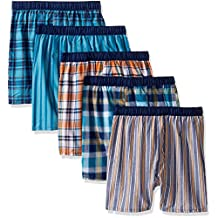 Fruit of the Loom Boys` 5pk Covered Waistband Boxer