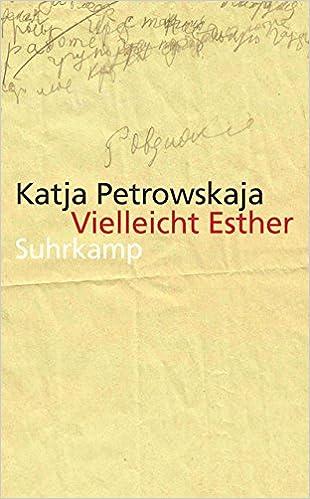 Vielleicht Esther: Geschichten (suhrkamp