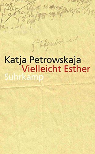Vielleicht Esther  Geschichten  Suhrkamp Taschenbuch