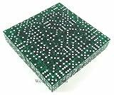 Green Transparent d6 19mm 200ea