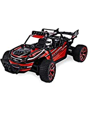 SZJJX RC Cars Off-Road Rock Vehicle Crawler Truck 2.4Ghz 4WD High Speed 1:18 Remote Radio Control Racing Cars Electric Fast Race Buggy Hobby Car
