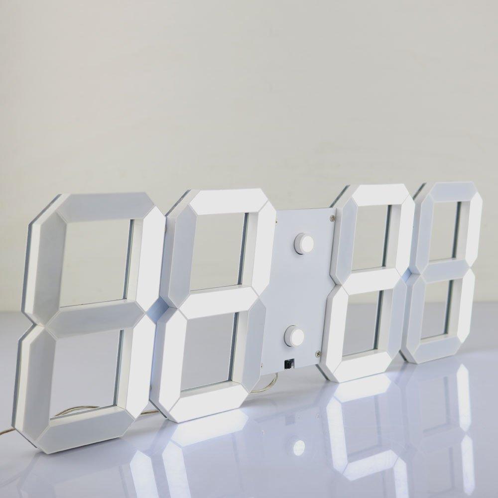 Amazon Chkosda Remote Control Jumbo Digital Led Wall Clock