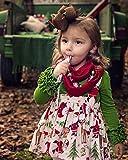 Toddler Baby Girl Basic Plain Ruffle Cuff Long